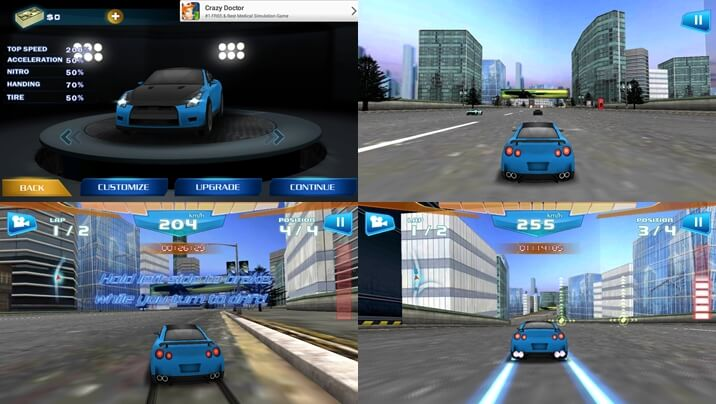 best android racing games fast racing 3d