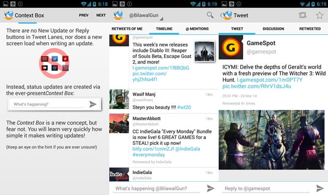 10 best twitter app for android