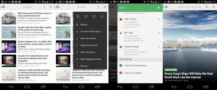 Feedly Android RSS Reader