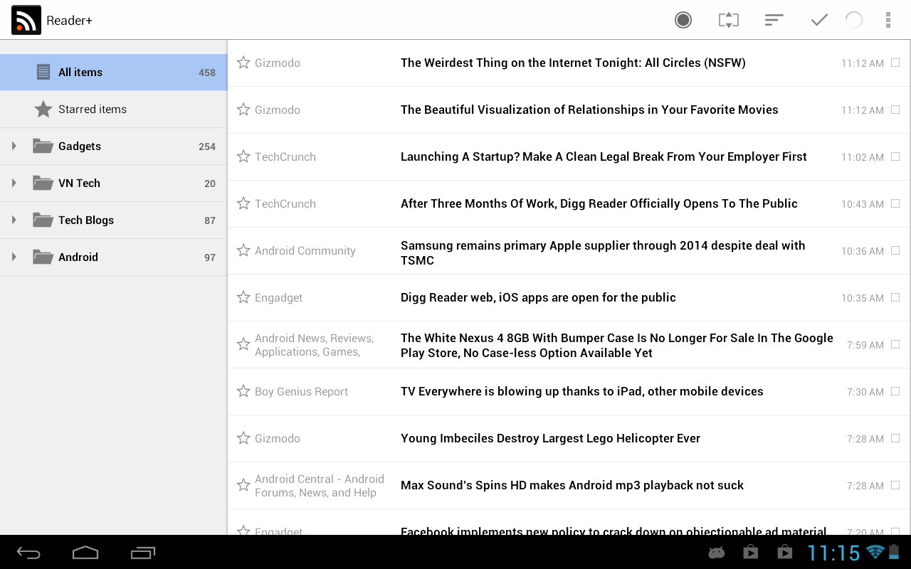 Reader + Android