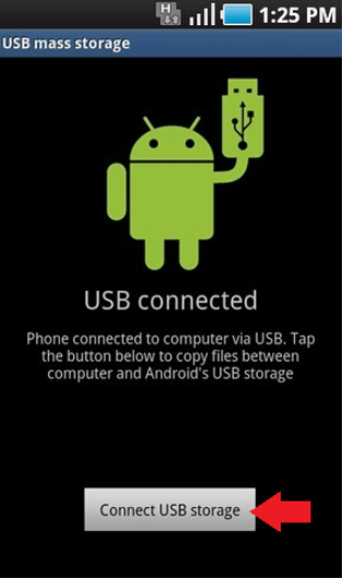 Android Connect USB