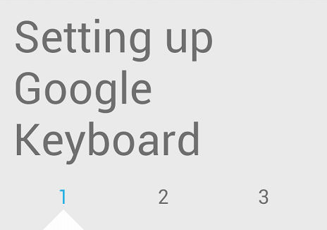 android keyboard setup