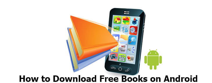 how to download free books on android
