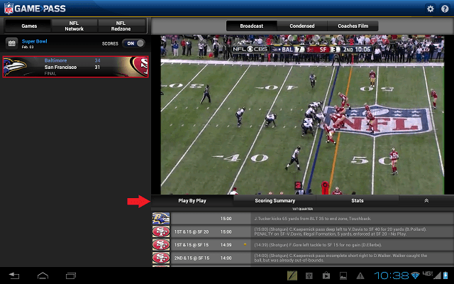 NFL Play By Play