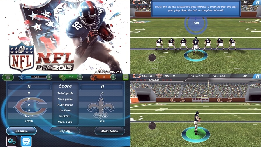 Top 10 NFL apps for android