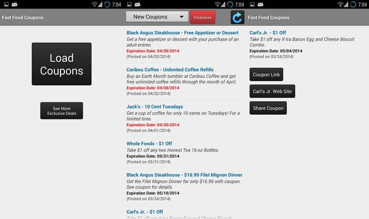 10 Best coupon apps for android