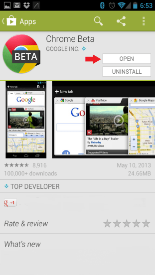 Google Play Open