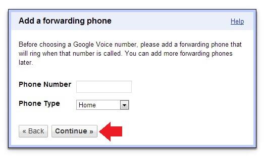 Google Voice Forwarding