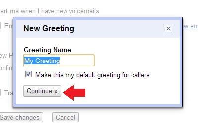 Greeting Name