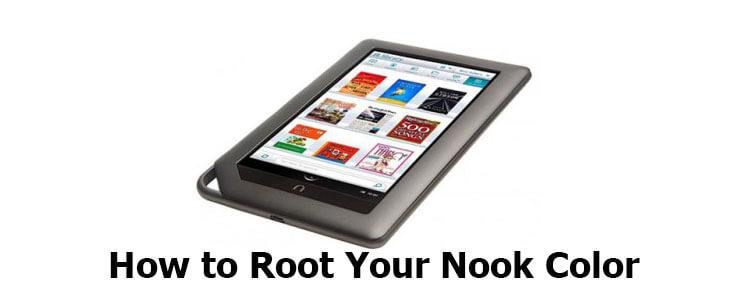 how to root Nook color