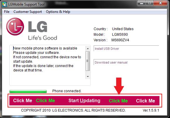 LG Click Me