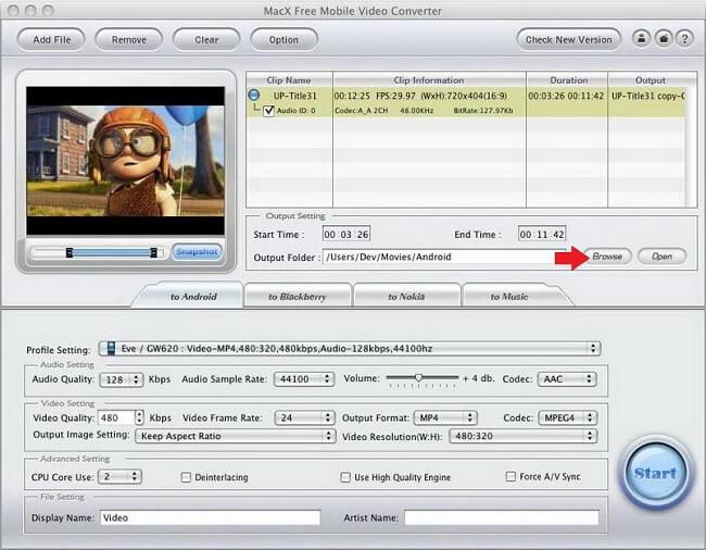 MacX Browse