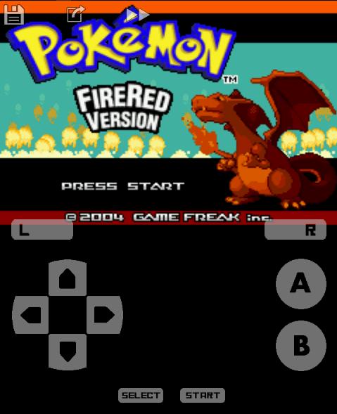 pokemon start screen