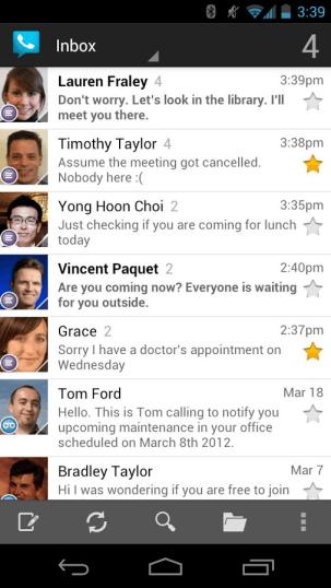 Voicemail Inbox