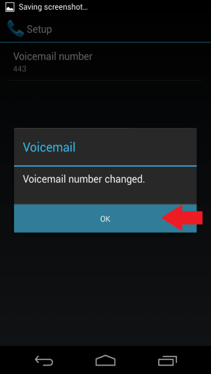 Voicemail Number