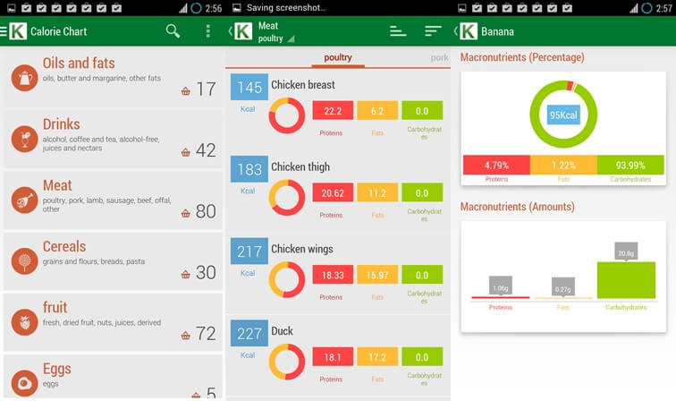 calorie counter app for android