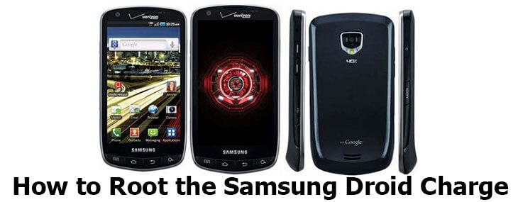 how to root Samsung Droid Charge