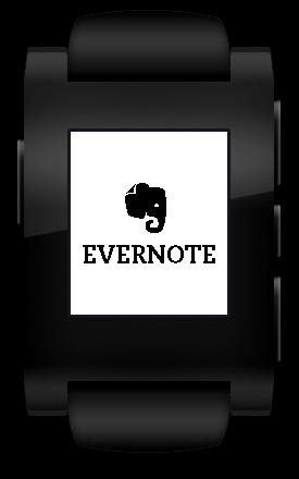 Pebble Evernote