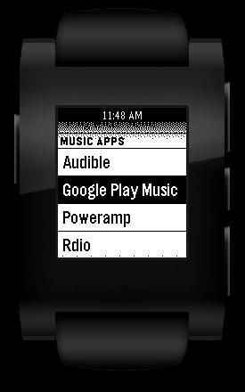 Pebble MusicBoss