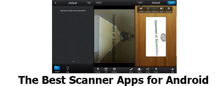 scanner app for android