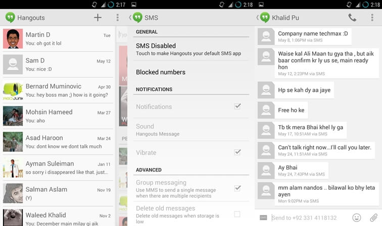 10 best SMS app for android