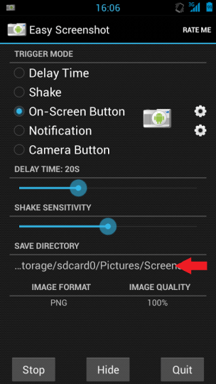 hours how to screenshot on a zte speed had always