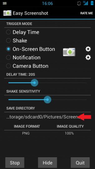 aScreenshot Directory