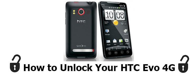 how to unlock HTC Evo 4G