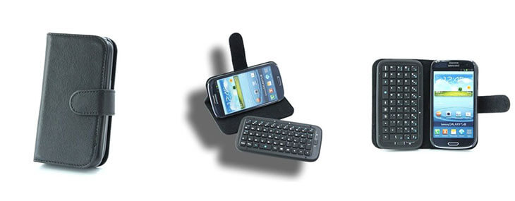 keyboard flip case cover for samsung galaxy s3