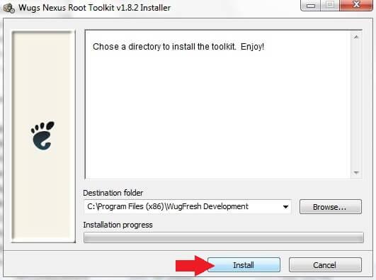 Nexus Toolkit Install