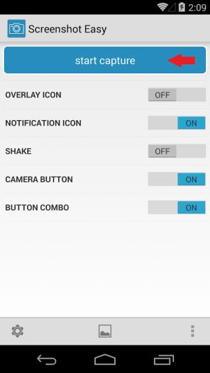 Screenshot Easy Start