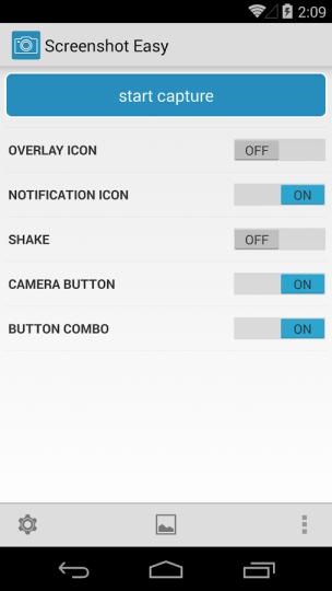 Screenshot Easy Triggers