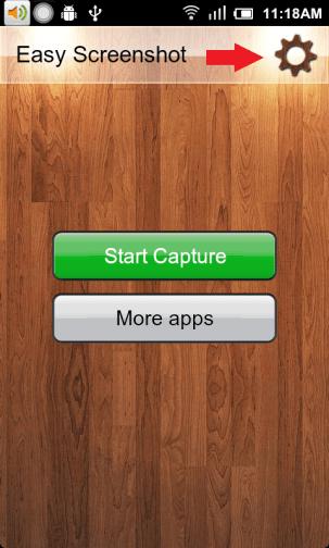 Screenshot Settings