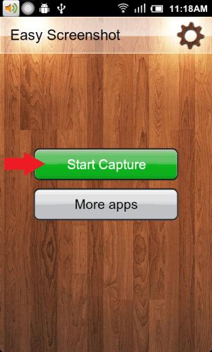 Screenshot Start