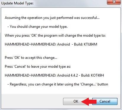 Update Model Type