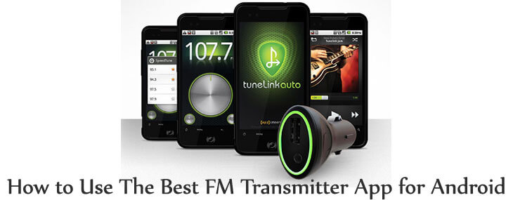 FM transmitter app for Android