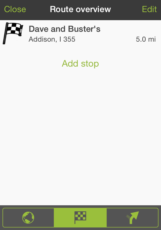 add new stop