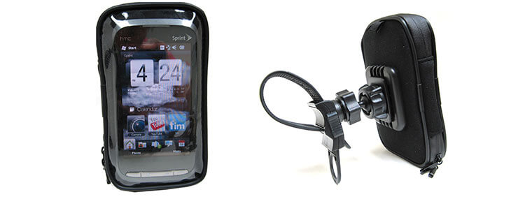 golf push cart mount for htc one