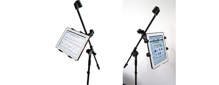 microphone and nexus 7 music mount