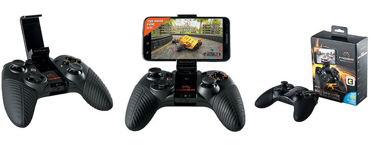 how to use moga controller