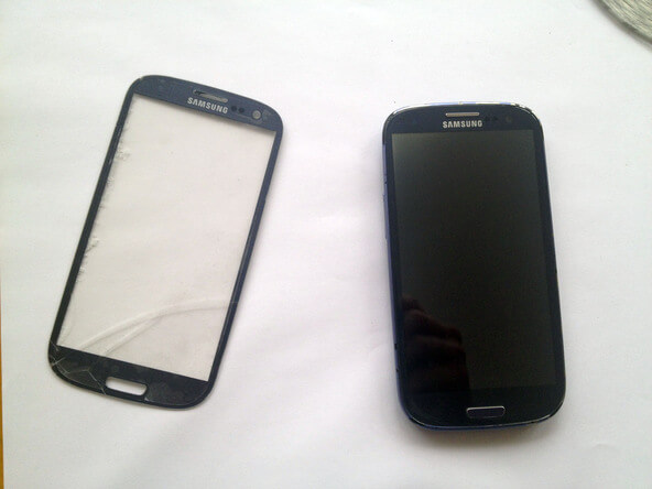 screen replaced