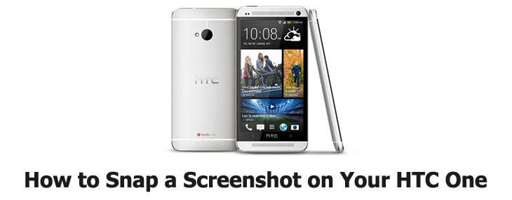 screenshot on HTC One