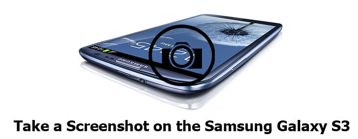 screenshot on Samsung Galaxy S3