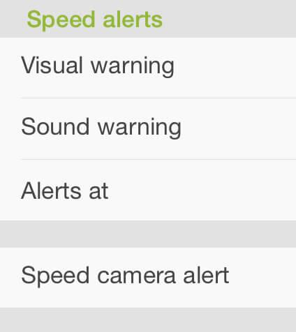 types of warnings