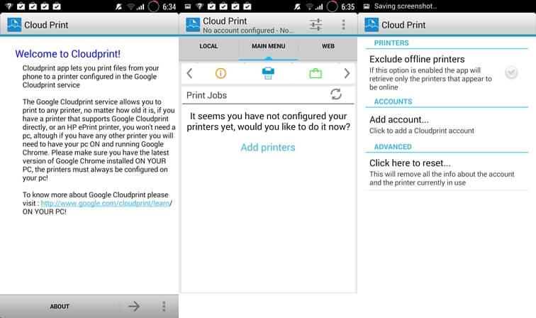 Cloud Print Plus Andorid printer apps