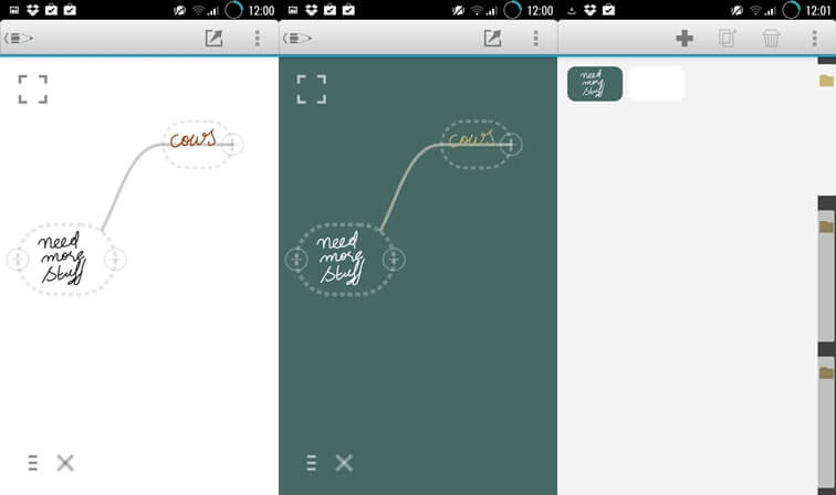 MindBoard writing apps for Android