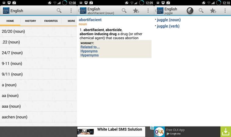 Advanced English & Thesaurus