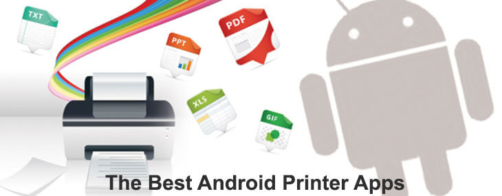 Android printer apps