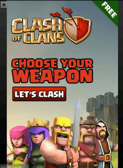 annoying popup ads