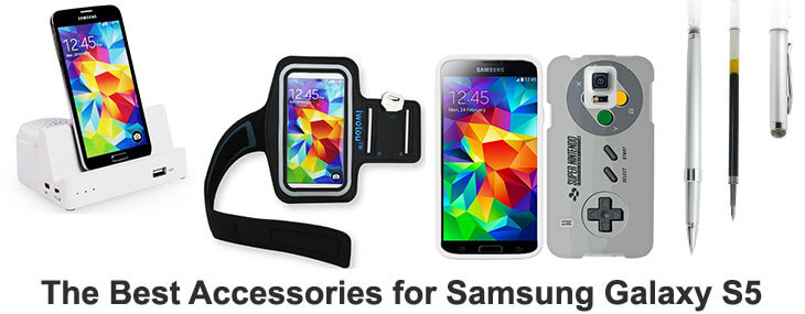 best accessories for Samsung Galaxy S5